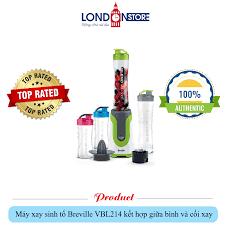 Máy xay sinh tố Breville VBL214 kết hợp giữa bình và cối xay – London store