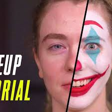 joker makeup tutorial joaquin phoenix