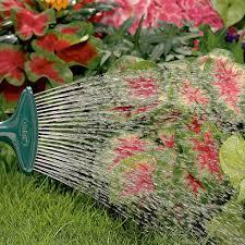 fan spray garden hose nozzle