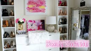 beauty room tour 2016 kelly strack