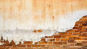 plaster old bricks wall wallpaper
