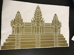 Angkor Wat Cambodia Decal Sticker Ebay