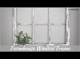 rustic window frame