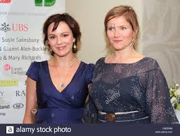 Rachael Stirling and Jassica Hynes, attends the Art Antiques London Stock  Photo - Alamy