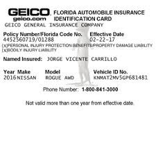 this is my insurance full cover geico