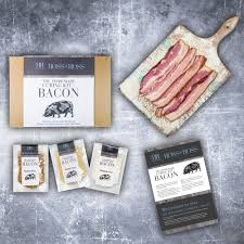 the homemade curing kit bacon