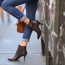 pointy toe ankle booties by fsj