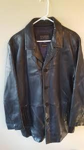 leather blazer car coat jacket mens
