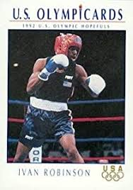 Amazon.com: Ivan Robinson Boxing Card (Team USA) 1992 Impel ...