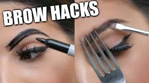 eyebrow hacks that everyone should know