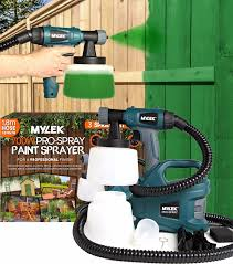 Electric Paint Sprayer Gun Spraygun Handheld Fence Home Garden Outdoor Indoor 5060478890416 Ebay