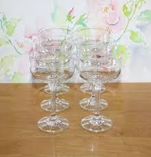 vintage tulip champagne glasses