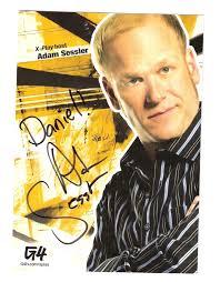 My Adam Sessler Autograph - X-Play Photo (9383579) - Fanpop