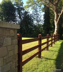 Mortice Fence Using 1 8m X 150mm X 150mm Douglas Fir Larch Posts And 4 8m X 150mm X 44mm Rails All Pre Fence Landscaping Fence Gate Design Post And Rail Fence