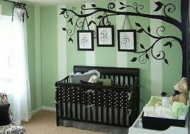 Corner Tree Wall Decal Large Half Tree For Modern Home Nursery Wall Sticker