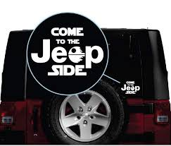 Come To The Jeep Side Window Decal Sticker Sticker Flare Llc