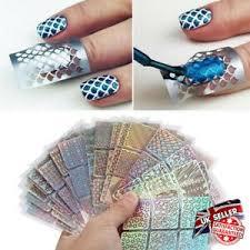 24 sheets 3d nail art tip hollow