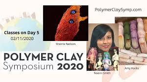 """Curious Mondo Art Courses Online on Twitter: """"Day 5 live Polymer ..."""