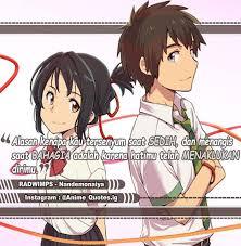gambar quotes anime sedih anime