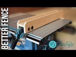 Table Saw Fence Update Makita Mlt100 Free Plans Building My Workshop Episode 4 Youtube