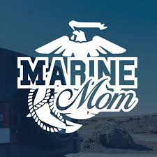 Marine Mom Car Decal Sticker Vehicle Sign Us Marines Marine Mom Mom Car Car Decals