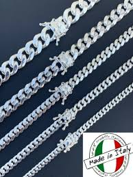 solid 925 sterling silver chain