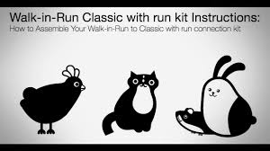 How To Add An Omlet Classic With Run To A Walk In Run Omlet Pet Products Youtube