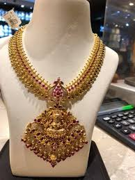 nakshi work necklace