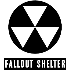 Fallout Shelter Decal Sticker Fallout Shelter Decal Thriftysigns