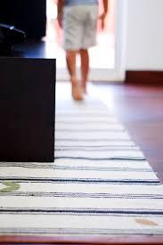 hallway runner rug diy ikea ers