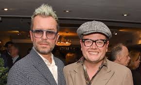 Who is Alan Carr's husband Paul Drayton and did Adele marry them? | HELLO!