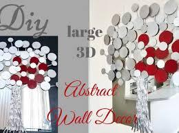 3d flower wall art artwork decor metal