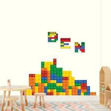 Lego Bricks Personalized Wall Sticker Decal Home Decor Art Mural Children Wc112 Ebay