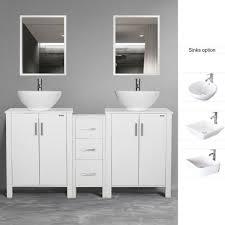 60 modern bathroom wood vanity cabinet