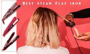 steam straightener vs flat iron