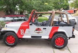 Jurassic Park Car Decal Jurassic Park Car Jurassic Park Jeep Park Jeep