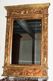 empire gilt mirror french classical
