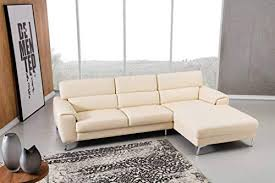 top grain genuine leather sectional