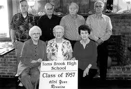 Toms Brook High School Class of 1957   Community News   nvdaily.com