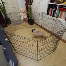 Dog Cage Playpen Dog Fence Heavy Duty 8 Panels Shopee Philippines
