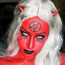 devil halloween makeup ideas for women