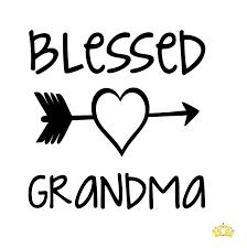 Amazon Com Custom Blessed Grandma Decal For Yeti Cup Car Or Laptop Custom Size Colors Handmade