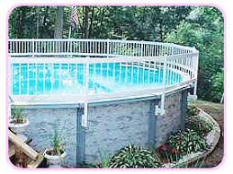 Aboveground Pool Fence Installation Intheswim Pool Blog