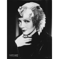 Shop Claudette Colbert wearing an Egyptian helmet Photo Print - Overstock -  25382722