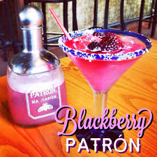 blackberry patrón margarita from chili