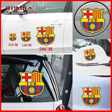 Car Stickers And Decals Barcelona Football Club Car Styling Football Stickers Car Sports 3d Car Sticker Automobile Body Stickers Car Stickers Football Stickers