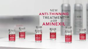 aminexil anti thinning treatment