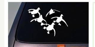 Flying Ducks Vinyl Car Truck Window Decal Dynasty Quack Hunting Mallard A50 Walmart Com Walmart Com