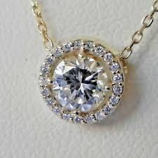 4k yellow gold 62 carat halo diamond