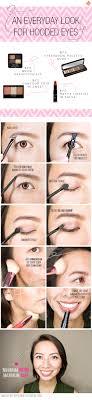hooded eyes makeup tutorial saubhaya